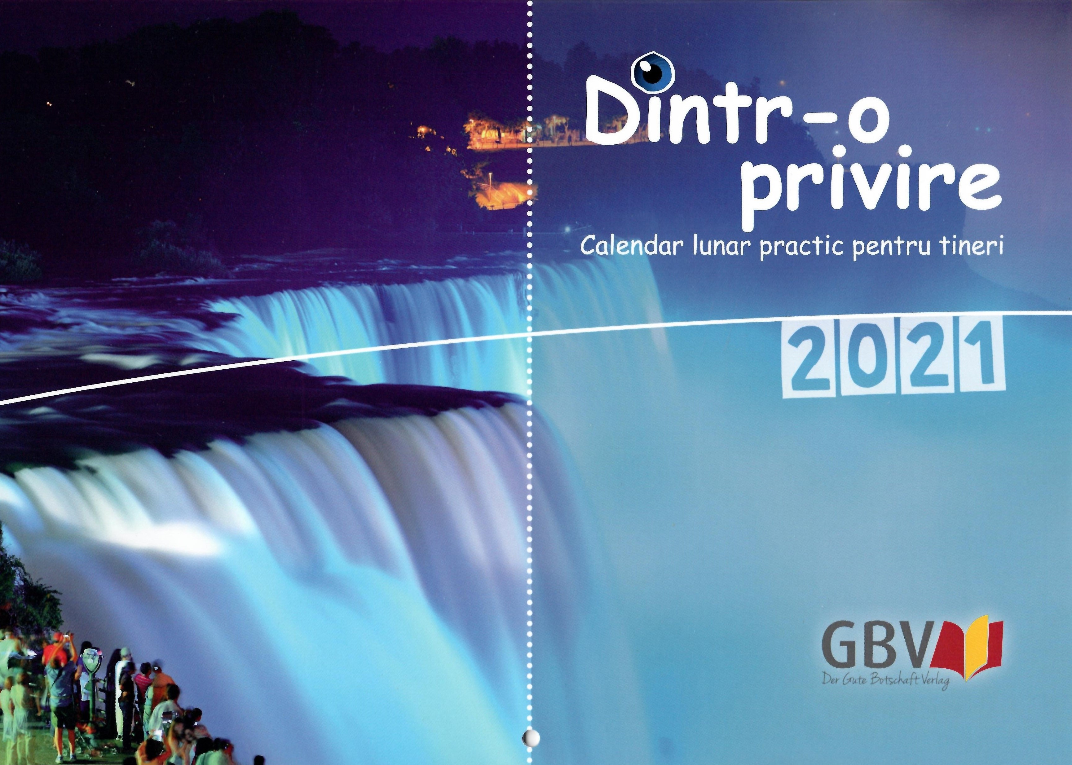 Calendar 2021 Dintr-o privire A4, pentru tineri