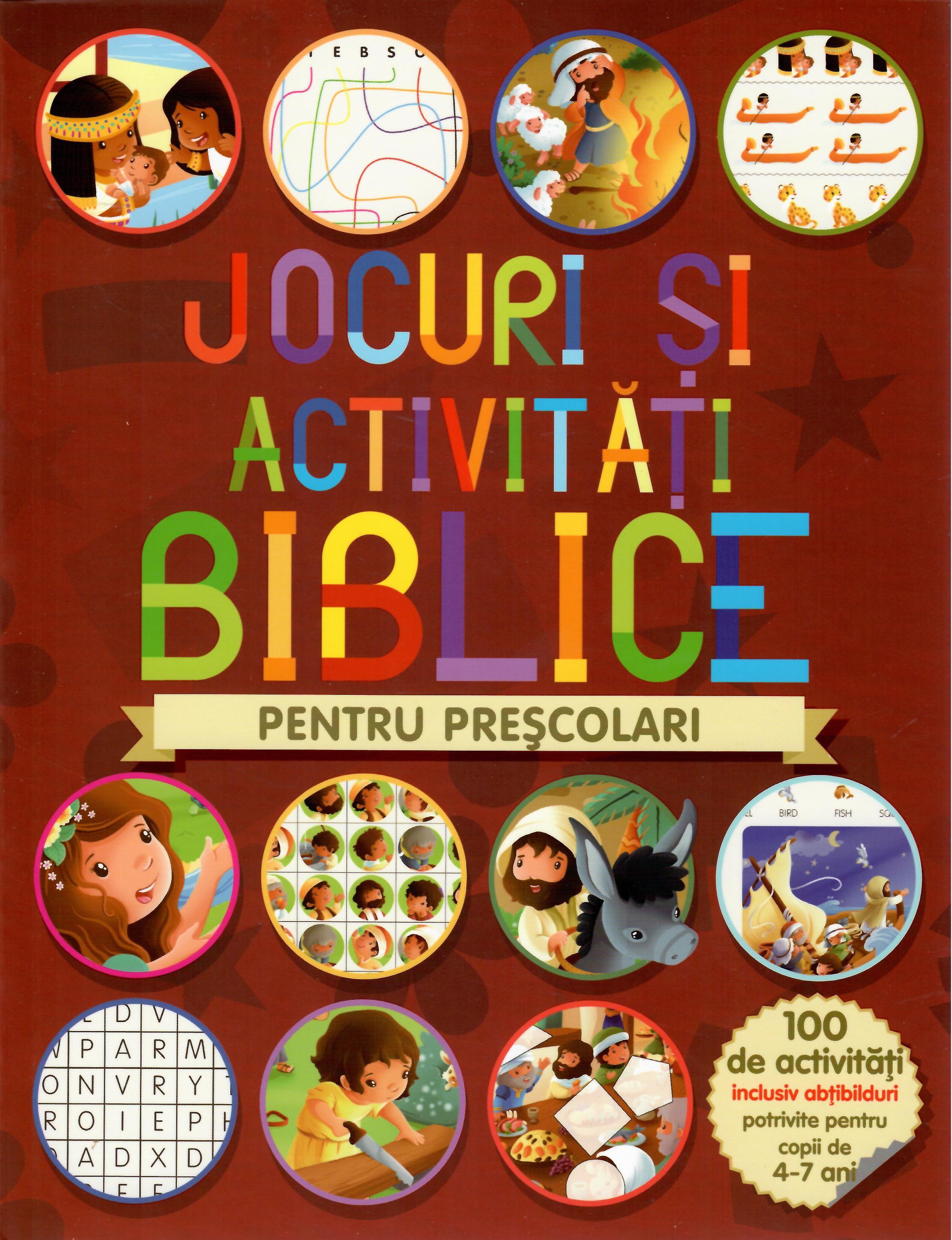 Jocuri și activități biblice pentru Preșcolari