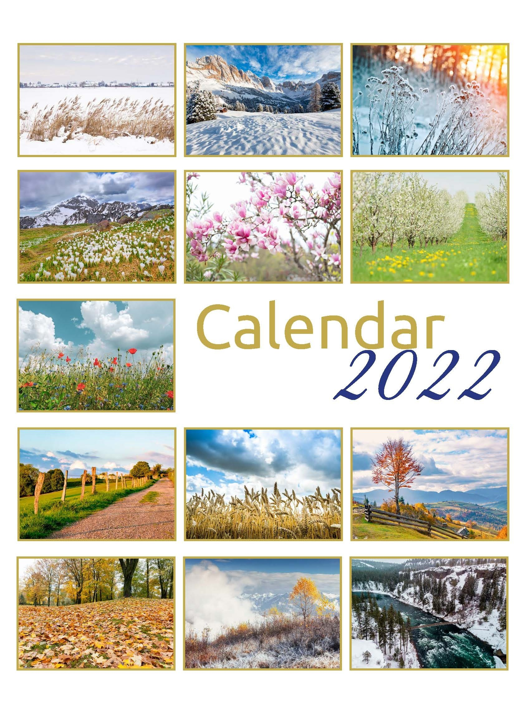 Calendar A3 / 2022